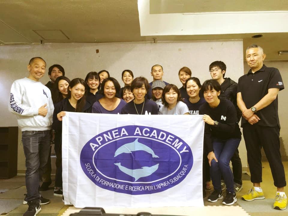 apnea academy asia 研修会